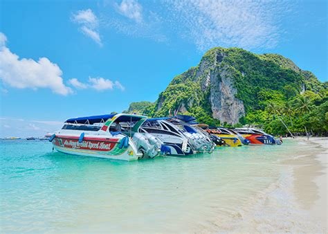 boat tour from phi phi island phi phi and khai island tour by speed boat phuket tour