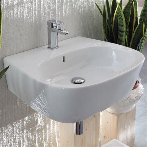 lavandini sospesi bagno lavabo 60 cm sospeso weg