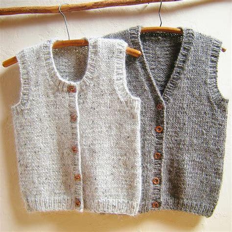 how to knit a baby vest best 25 knit vest pattern ideas on tejidos