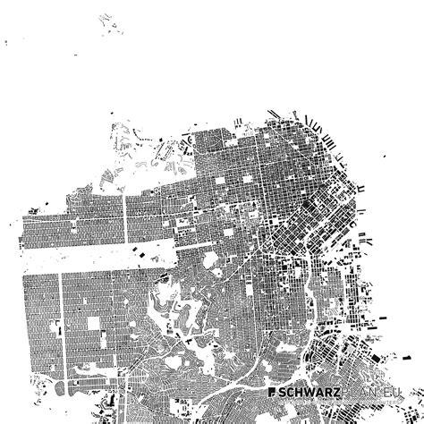 san francisco map black and white san francisco site plan figure ground plan for