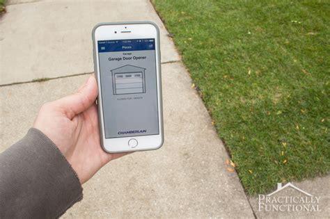 Garage Door Opener That Works With Nest Open Your Garage Door With Your Phone