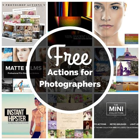 tutorial photoshop free 10 free photoshop actions for photographers photoshop