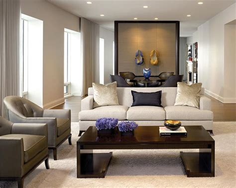 formal contemporary living family room by gary lee