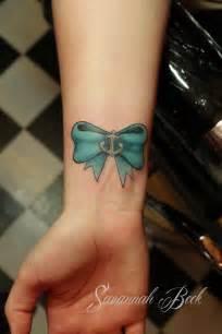 tattoos cute wrist bow tattoos