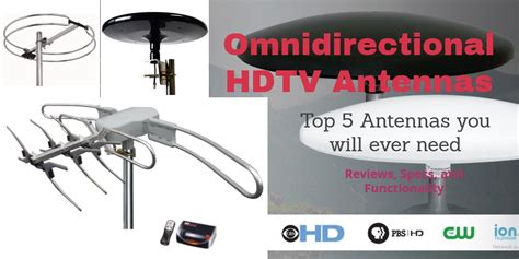 5 best omnidirectional hdtv antennas 2018 reviews comparison