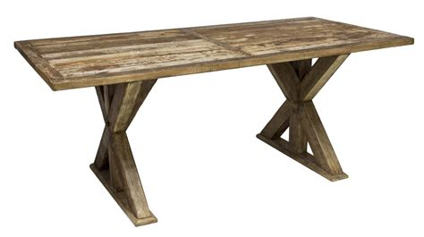colonial teakwood kitchen trestle table