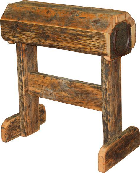 Barnwood Dining Room Table barnwood saddle stand durango trail rustic furniture