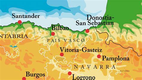 pais vasco mapa de carreteras pa 237 s vasco