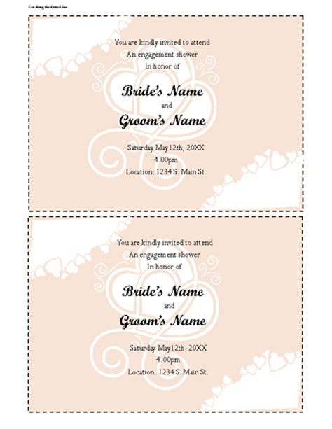 open office templates for invitations office baby shower invitation templates