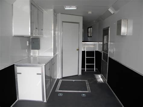 trailer bathrooms cargo trailer conversion bathroom thedancingparent com