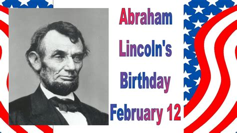 when is abe lincolns birthday home page www ojc edu