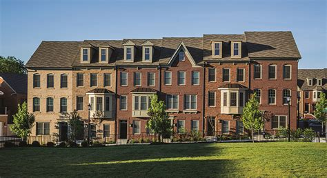 new townhomes combine city convenience with country charm