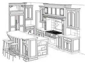 Kitchen Design Drawings by Kitchen Cabinet Drawing What You Need To Know Before