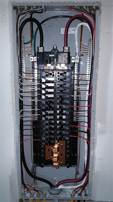 residential wiring diagram 200 breaker panel wiring