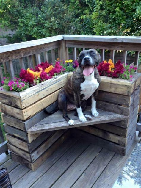 pallet corner bench diy pallet bench with flower box for corner pallets pro