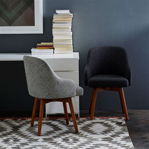 non swivel office chair saddle swivel office chairs west elm