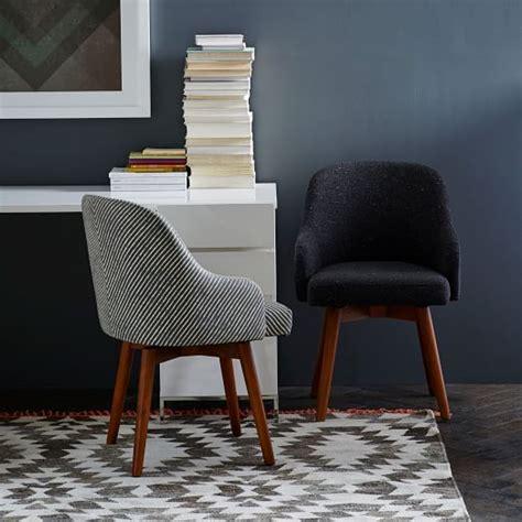 west elm swivel chair saddle swivel office chairs west elm