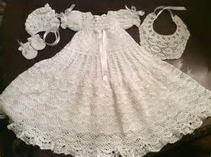 Irish Blessing Baby Baby Andrea Christening Gown Crochet Pattern Includes Bonnet