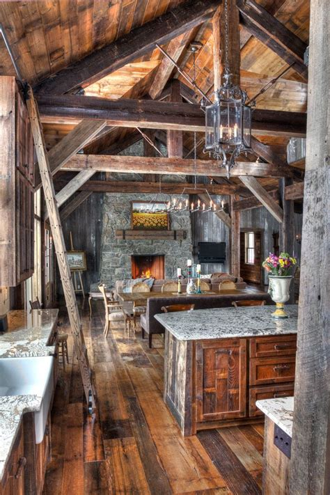 rustic log cabin 25 best rustic cabin kitchens ideas on rustic