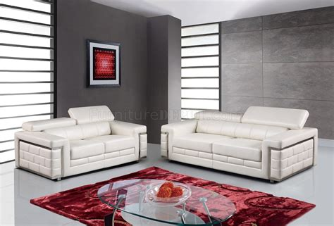 white bonded leather sofa u7940 sofa in white bonded leather by global w options