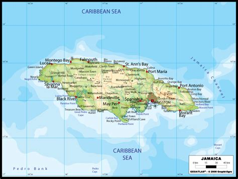 Finder Jamaica Jamaica Map