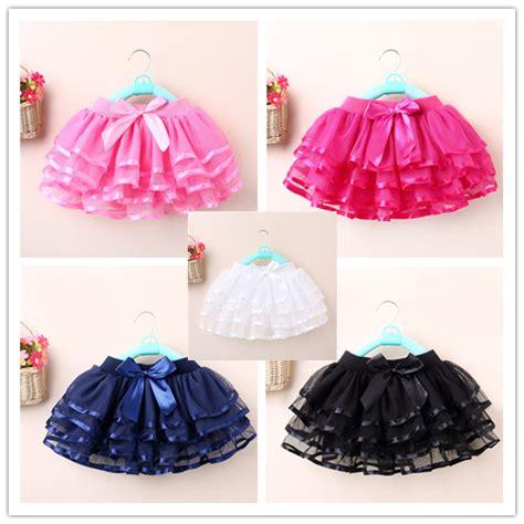 Setelan Rok Tutu Minnie d 233 5 couleurs filles tutu jupe arc g 226 teau jupes pour filles enfants pettiskirt filles