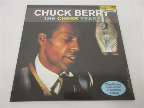 Chuck Berry Criminal Record Chuck Berry Quot The Chess Years Quot Vinyl Record Album