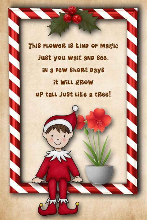 free printable elf on the shelf poem 195 best christmas elf printables products images on
