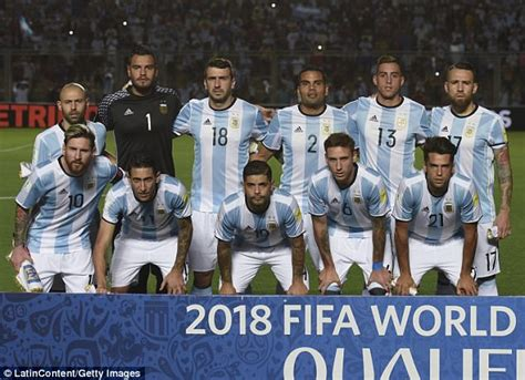 and argentina world cup hopes in the balance