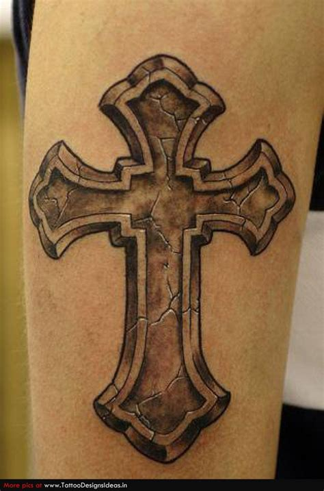 large cross tattoos t1 religious tattoos cross 390 religious design