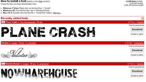 dafont typography dafont online