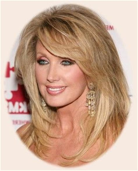longer hairstyles with bangs for women over 4 17 best images about love on pinterest jaclyn smith
