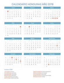 Calendario 2018 Imagen Calendario Honduras A 241 O 2018 Feriados