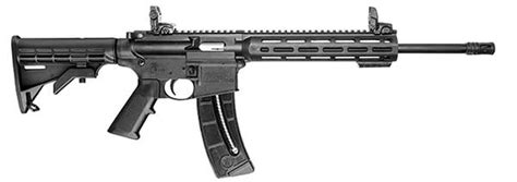 smith wesson s new m p 15 22 sport rifles the firearm