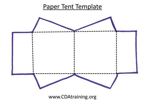 small tent card template for mac cing curriculum theme