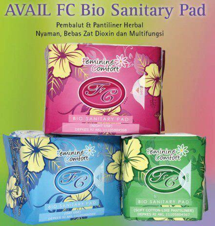 Paket Pembalut Pantyliner Avail produk avail pembalut pantiliner avail fc bio
