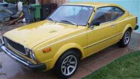 76 Toyota Corolla Sr5 Four Wheels If You Are Lucky 1976 Toyota Corolla Sr5