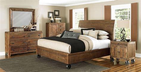 island bedroom furniture river ridge island bedroom set with casters from magnussen