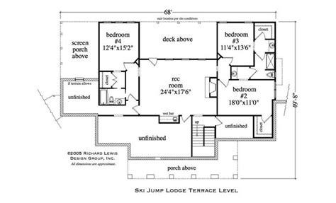 Ski Lodge Floor Plans by Wonderful Ski Lodge House Plans Pictures Exterior Ideas