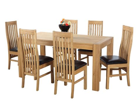 Painted Oak Dining Table And Chairs Oak Dining Tables And Chairs Marceladick
