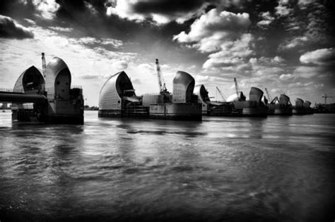 thames barrier issues thames barrier by terry bowker black white magazine