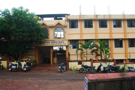 Mba Colleges In Goa by Saraswat Vidyalaya S Sridora Caculo College Of Commerce