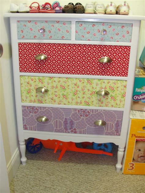Fabric Dresser Drawers by 46 Best Images About Refinished Diy Furniture On