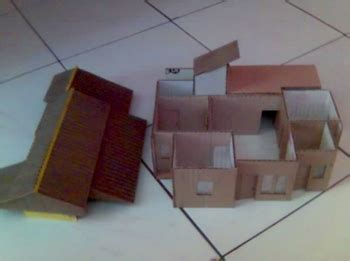 cara membuat rumah adat minang dari kardus cara membuat miniatur rumah adat jawa dari kertas kardus