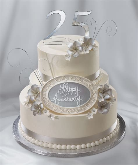 Silver Anniversary Wedding by 25th Wedding Anniversary Cake Silver Anniversary Quot I Do