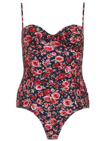 New Navy Combi Twist Cardy floral swimsuits reviews