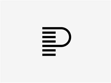 design logo get paid p pay monogram monograms logos and portfolio layout