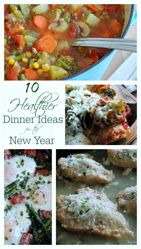 10 healthier dinner ideas for the new year cozy country