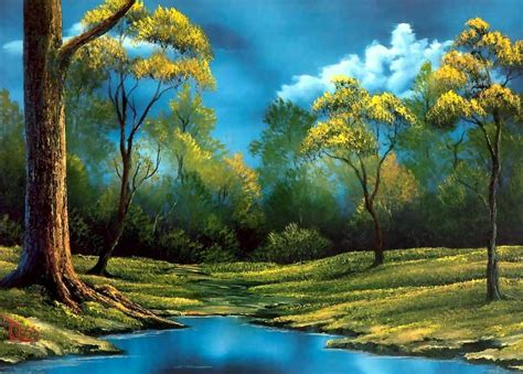 bob ross painting evergreens im 225 genes arte pinturas pinturas paisajes bob ross