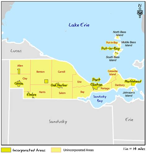 Erie County Records Ohio Ohio Dnr Lake Erie Access Guide Ottawa County